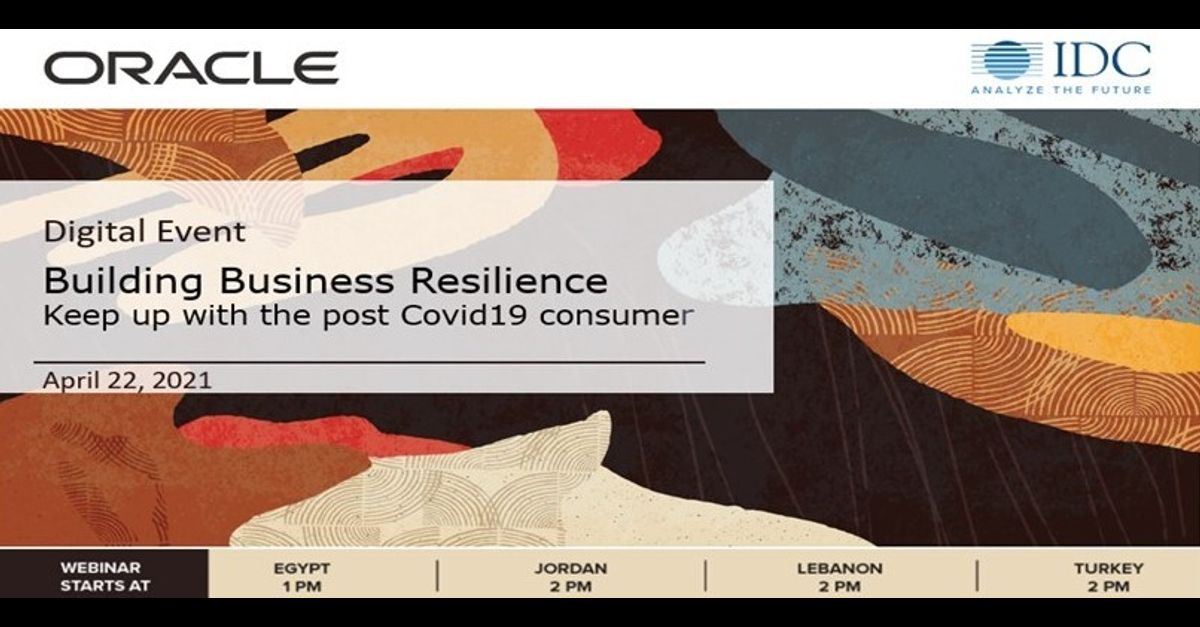 CONSUMER DATA & BUSINESS RESILIENCE